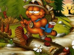garfield hd background for ios 7 wallpapers