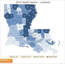 Map Of Louisiana by Louisiana Rankings Data County Health Rankings U0026 Roadmaps