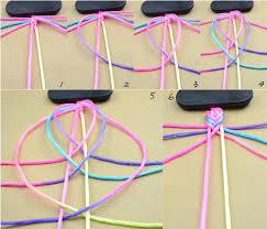 easy bracelet images How to make easy string bracelets on we heart it jpg
