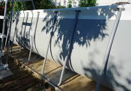 amenagement autour piscine hors sol nivrem com u003d construire une terrasse en bois pour piscine hors sol
