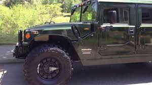 hummer h1 hmc4 slant back duramax turbo diesel conversion with