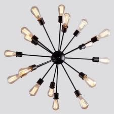 Atomic Chandelier Fashion Style Over 8 Chandeliers Industrial Lighting