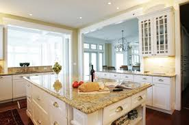 granite countertop edges kitchen traditional with glass front