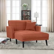Madrid Leather Sofa by Madrid Linen Sleeper Chaise Lounge Sofamania Com
