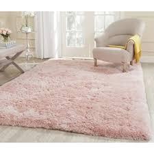 Pink Area Rug 5x8 Safavieh Handmade Arctic Shag Pink Polyester Rug 4 X 6 Free