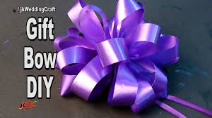 wedding gift bows diy easy bow for a gift and trousseau how to make jk
