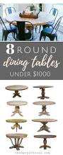 Furniture Dining Room Tables Best 20 Round Dining Tables Ideas On Pinterest Round Dining