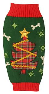 Ugly Green Amazon Com New York Dog Ugly Holiday Sweater For Pets Navy