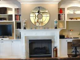 mirrors over fireplace binhminh decoration