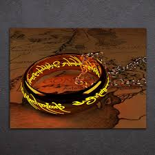Lotr Home Decor Ring Canvas Promotion Shop For Promotional Ring Canvas On