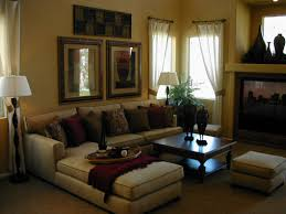 decoratio of wall of drawing room house decor picture