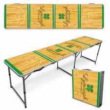custom beer pong tables custom beer pong table shamrock pong university