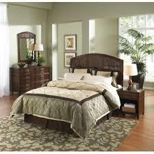 chambre en osier ensembles de lit matériau osier rotin wayfair ca