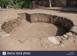 baptismal basin ancient baptismal basin in the suburbs of ephesus park of