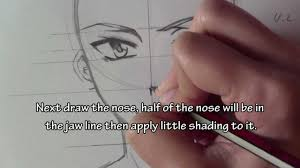 how to draw a male manga character slow tutorial youtube