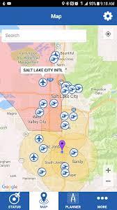 Salt Lake Zip Code Map by Where To See Flight Restrictions Dji Geo Or B4ufly Dji Mavic