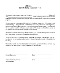 sample confidentiality agreement form 9 free documents in doc pdf