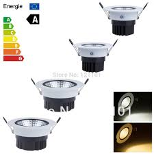 Recessed Led Downlight Aliexpress Com Buy Dimmable Recessed Led Downlight Cob 6w 9w 12w
