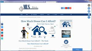 Home Affordability Calculator by How Much Home Can I Afford Overview Youtube