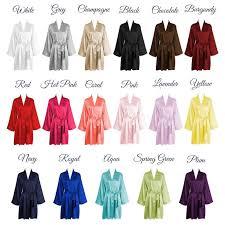 bridesmaid satin robes best 25 bridesmaid robes ideas on bridal robes