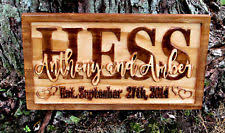 Personalized Wedding Plaque Personalised Wedding Home Décor Indoor Signs Plaques Ebay