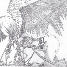gallery anime drawings in pencil easy boy drawing art gallery