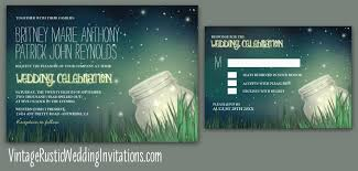 jar wedding invitations jar wedding invitations with starry sky vintage