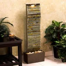 appealing indoor fountain decor ideas introducing unfinished