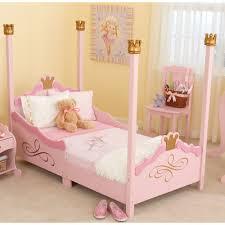 Princes Bed Kidkraft Princess Toddler Four Poster Bed U0026 Reviews Wayfair