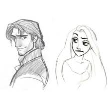 disney tangled rapunzel with long hair picture tangled polyvore