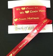custom ribbon printing 7 8 custom printed ribbon atouchofribbon