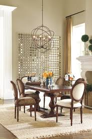 warm neutral dining room dining room pinterest natural love the mirror and dining room light fixture sacha mirror from ballard designs