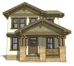 craftsman plan with mission style window 69314am 2nd floor master suite bonus room cad front view 2000 square foot craftsman home ranch pinterest