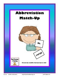 21 best abbreviations images on teaching language arts