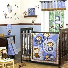 pink monkey crib bedding sets new beige safari animals giraffe