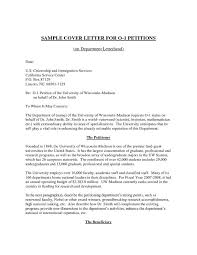 collection of solutions sample cover letter for student visa