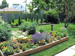 Backyard Raised Garden Ideas Backyard Flower Bed Designs Flower Garden Ideas Beautiful Ways To