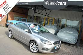 used ford focus cc 2 0 tdci cc 2 diesel cab hardtop full ford