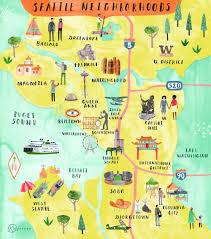 Seattle Maps Maps U2014 Katie Vernon
