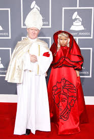 Grammys 2017 5 Biggest Controversies Of All Time Music - with her nun outfit and pope accessosry nicki manaj was trying to