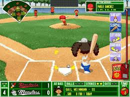 Kenny Backyard Baseball Backyard Baseball Season Walkthrough Game 2 At Monsters Youtube