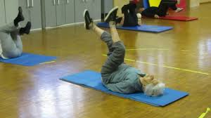 granny fitness training youtube