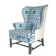 Pattern Chairs Wing Back Chairs For Our Pink Chair Charleston House Burlap U0026