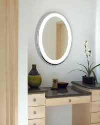 Lighted Bathroom Wall Mirror by Vanities Wall Mounted Makeup Mirror With Lights Uk Wall Mounted