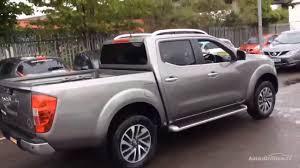 gray nissan truck nissan navara dci tekna 4x4 shr dcb grey 2017 youtube