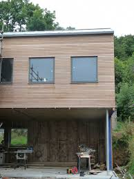 georgian house build in progress georgian house refurbishment with timber clad