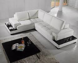 White Leather Sleeper Sofa Sectional Sofa L Shaped White Leather Sofa Bed Sectionals
