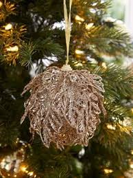 s 4 3 glass gold willow tree ornament