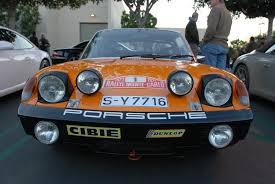 vintage orange porsche porsche 911 digitaldtour