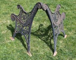 wrought iron bench ends antique cast iron bench ends best 2000 antique decor ideas